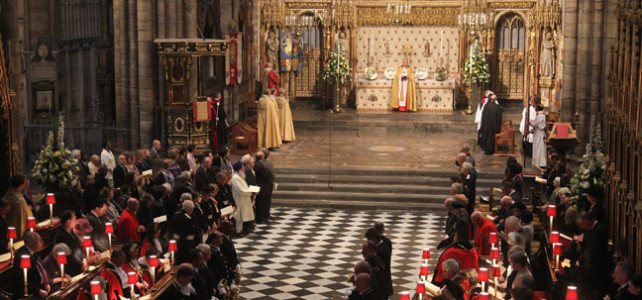 Evensong at Westminster Abbey for Singapore, Mon 7 Aug